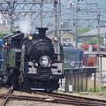 Photos: C11 207+ヨ8634+14系+DE10 1099  (4)