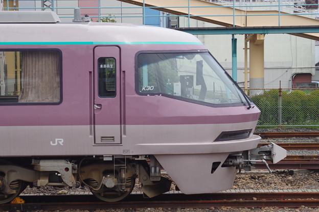 485系K30編成「リゾートエクスプレスゆう」  (3)