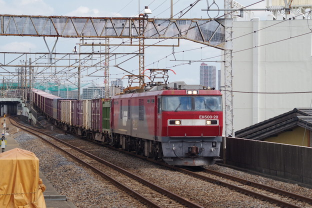 EH500 20+コキ (2)