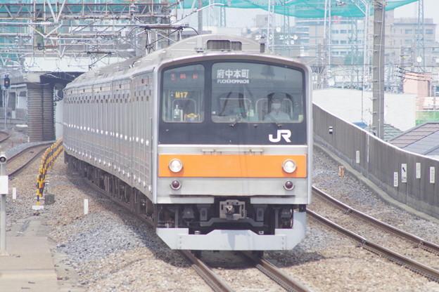 205系M17編成 (1)