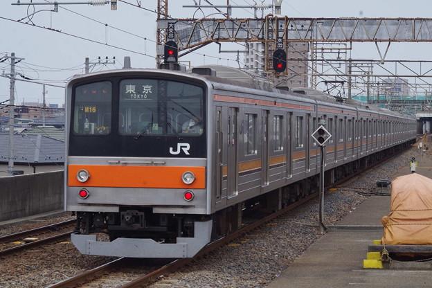 205系M16編成 (1)