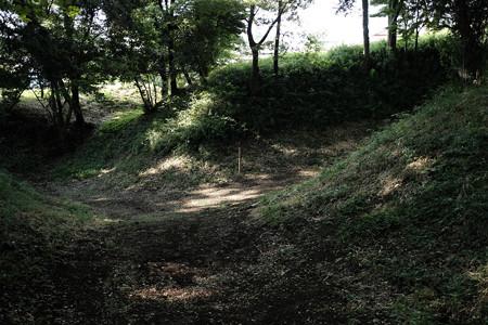 滝の城_02空堀-8230
