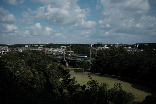 滝の城_07主郭からの眺め-8220