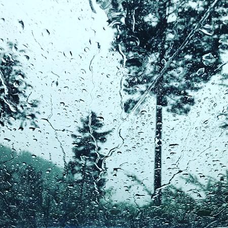 レヴォーグ 大雨