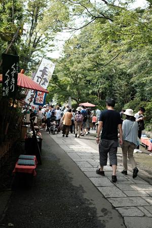 深大寺_参道-8302
