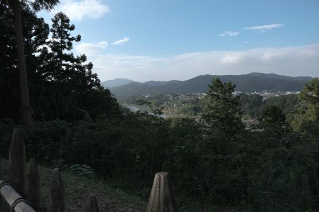 鉢形城_05秩父曲輪からの眺め-8466