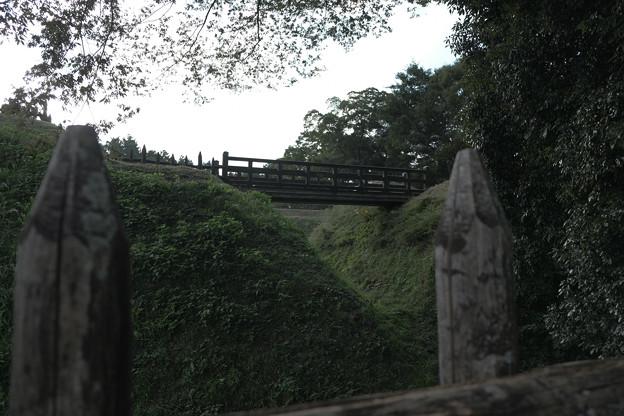 鉢形城_07木橋-8481