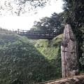 鉢形城_木橋