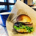 清泉寮のハンバーガー