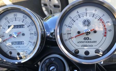 SR400 メーター