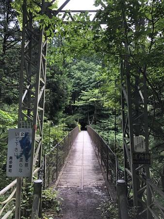 奥多摩むかしみち つり橋