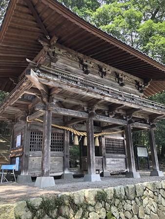 武田八幡宮 山門