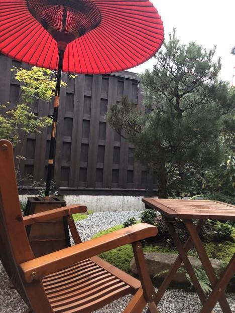 Photos: 高山 旅のしおり 中庭