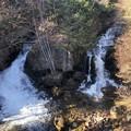 Photos: 竜頭の滝の紅葉はすでに終わり・・・