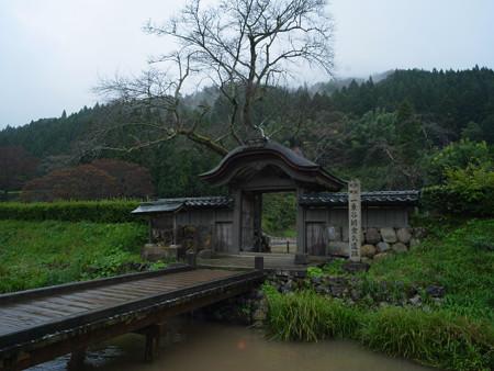 一乗谷 朝倉館 門-0048332