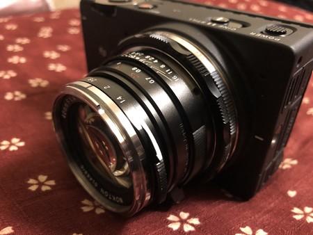 シグマfpとNOKTON 40mm