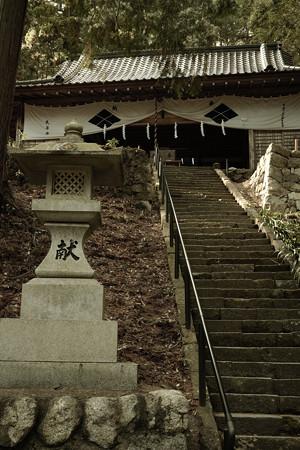 武田八幡宮 拝殿-0365