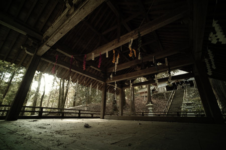 武田八幡宮_神楽殿-0425