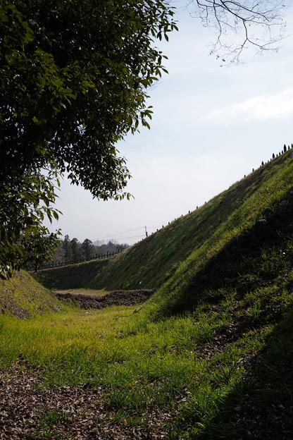 鉢形城 堀の底-1367