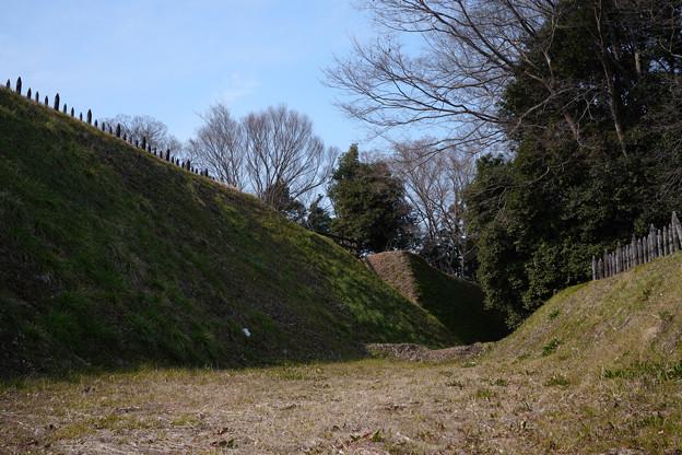 鉢形城 堀の底-1371