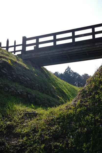 鉢形城 木橋-1368