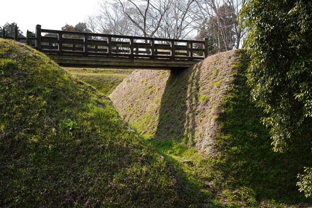 鉢形城 木橋-1369