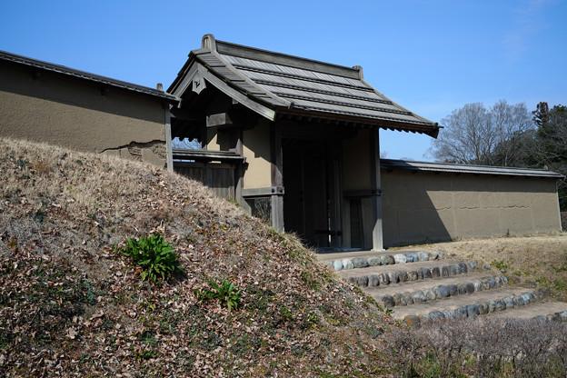 鉢形城 門-1356