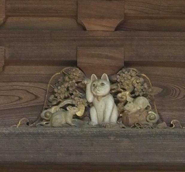 豪徳寺 04 三重塔のねこ-1771
