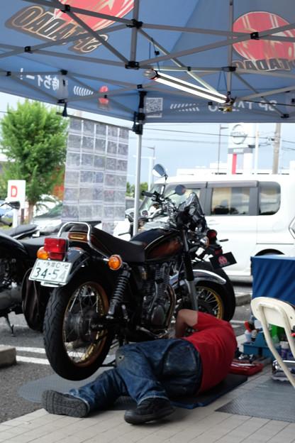 Photos: SR400 PowerBox装着中-5417