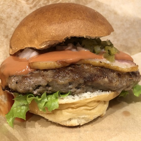 清泉寮ハンバーガー