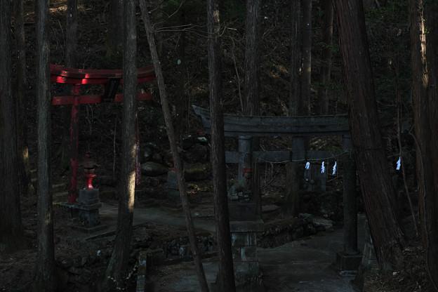 朝日稲荷神社-1961