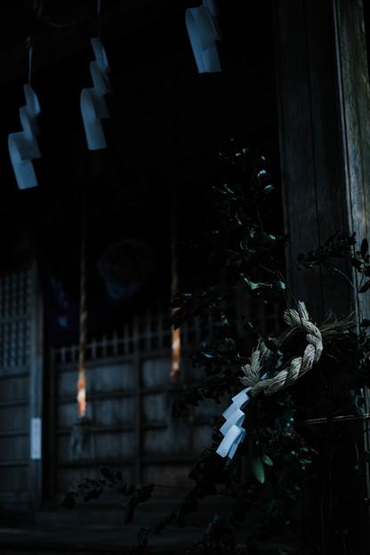 朝日稲荷神社-1950