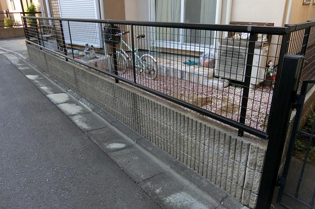 所沢市H様邸駐輪場リフォーム1