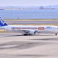 国内線用のスターウォーズJET。。羽田空港 20170325