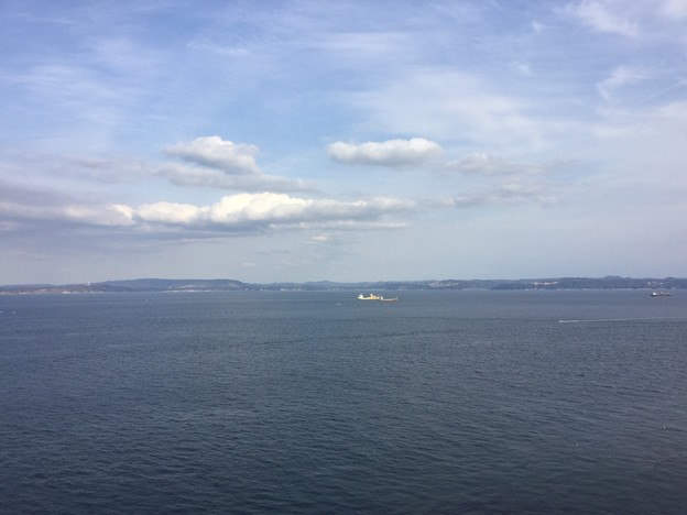 横須賀観音崎灯台からの眺め。。20170325