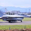 写真: 撮って出し。。横田基地 韓国空軍の戦闘機KF-16 6月3日