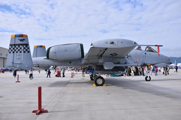 フレンドシップデー。。在韓米軍のA-10C攻撃機司令機
