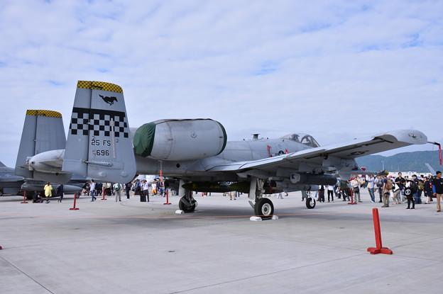 フレンドシップデー。。在韓米軍オーサンのA-10Cサンダーボルト攻撃機