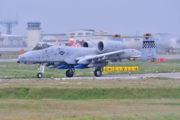 岩国基地。。戦闘攻撃機A-10サンダーボルト 司令機 20170506