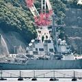 衝突事故前の横須賀基地出港前の駆逐艦フィッツジェラルド 20170610