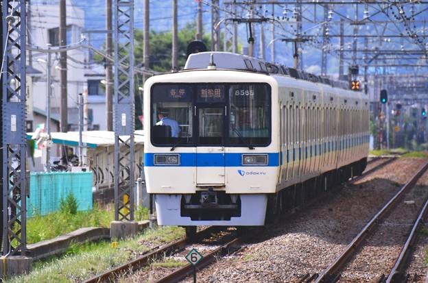 開成駅。。小田急オリジナルカラー残す8000系 20170610