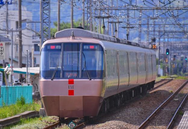 開成駅。。特急ロマンスカーEXE さがみ号 20170610