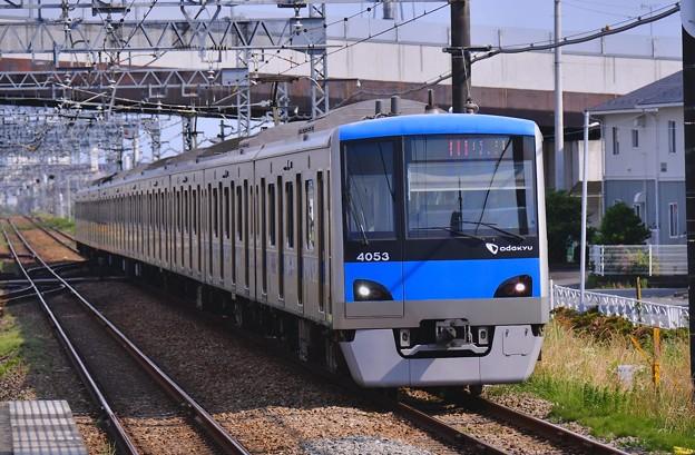 開成駅。。小田急急行新宿 4000系 20170610
