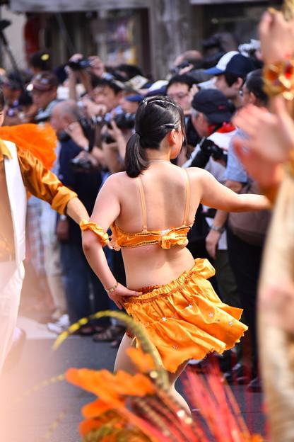 撮って出し。。連休最後は川崎大師の地元のサマーフェスタサンバパレード 7月17日