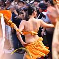 写真: 撮って出し。。連休最後は川崎大師の地元のサマーフェスタサンバパレード 7月17日