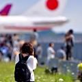 北海道にも航空ファンのカメラ女子 千歳基地 20170722