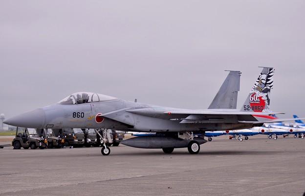 千歳基地航空祭。。スペシャルマーキング機第201飛行隊