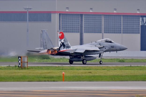 I機動飛行はキャンセルでアフターバーナー滑走路へ。。