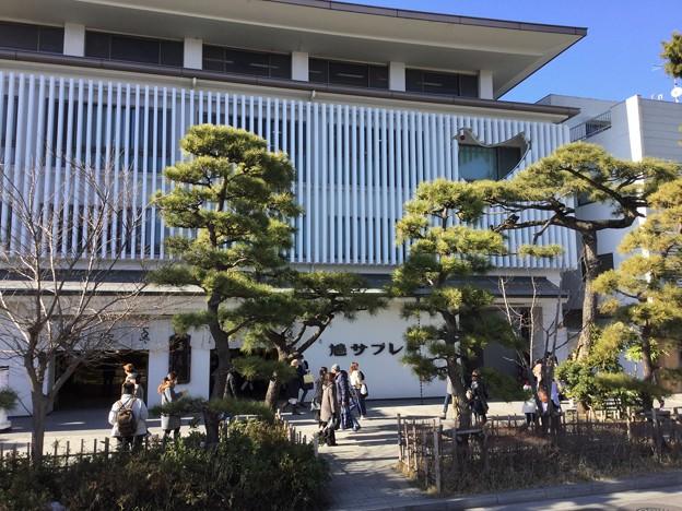 撮って出し。。鎌倉の銘菓 鳩サブレー本店1月27日