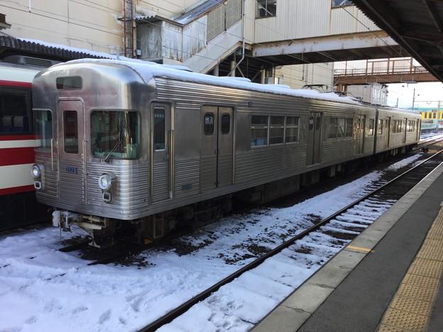 撮って出し。。長野電鉄須坂駅メトロオリジナルのまま旧営団日比谷線 2月3日